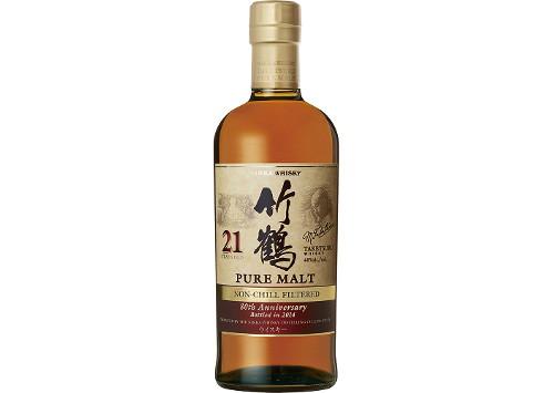 NIKKA(ニッカ)竹鶴21年ノンチルフィルタード