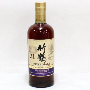 NIKKA(ニッカ)竹鶴21年ピュアモルト ポートウッドフィニッシュ