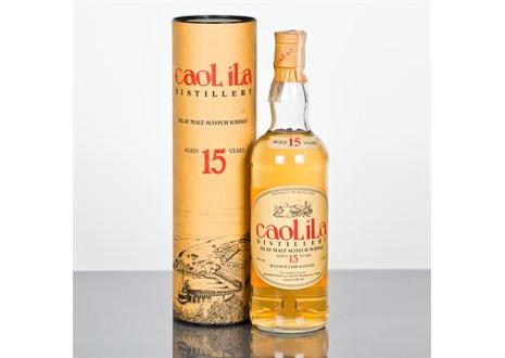カリラ15年 オールドボトル バロックレイド