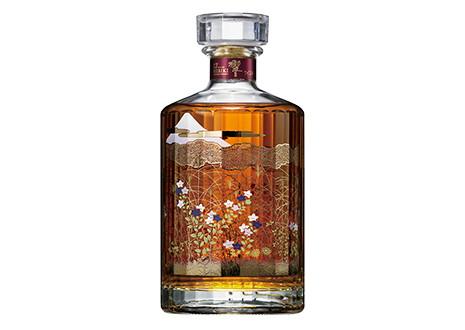 サントリーウイスキー響17年 意匠ボトル 武蔵野富士