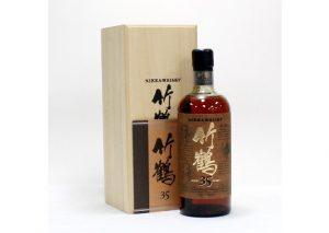 新潟県長岡市のお客様から竹鶴35年を買取させて頂きました。