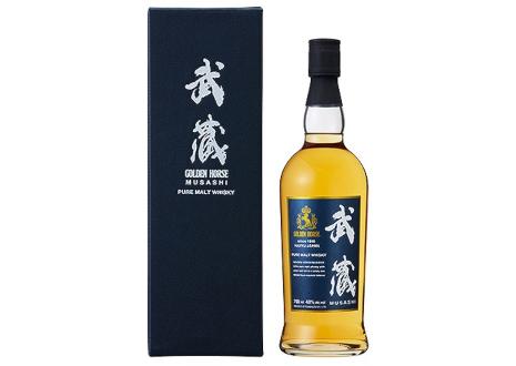 東亜酒造 ゴールデンホース 武蔵 ピュアモルトウイスキー