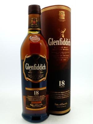 グレンフィディック 18年 エンシェントリザーブ