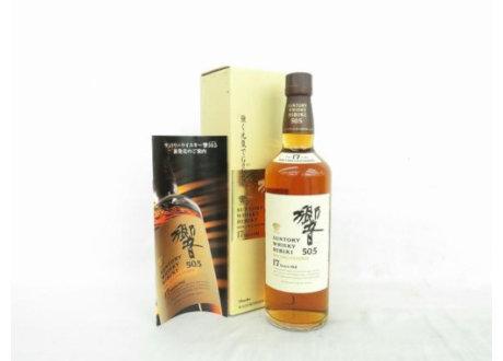徳島県阿南市のお客様からサントリーウイスキー響17年 ノンチルフィルタード 50.5を宅配買取させて頂きました。