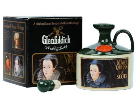 グレンフィディック マリークイーン 陶器ボトル