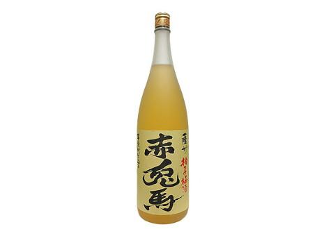 薩州 赤兎馬 柚子梅酒 1800ml