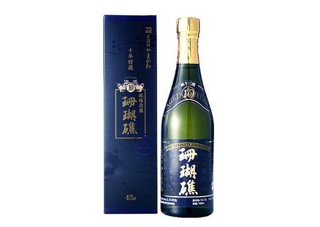 琉球泡盛 珊瑚礁 10年貯蔵 古酒 500ml