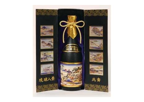 琉球泡盛 限定秘蔵酒 かねやま 25年貯蔵 古酒