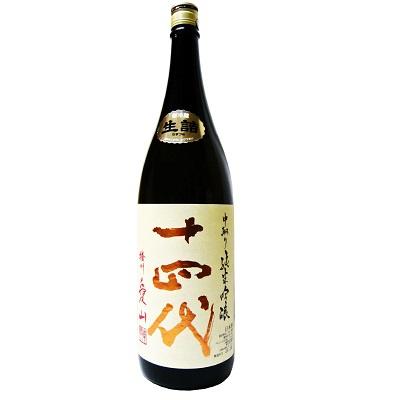 十四代 純米吟醸 中取り 播州愛山 生詰 1800ml