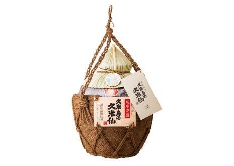 琉球泡盛 久米島の久米仙 壷入り 43度 五升壺 9000ml