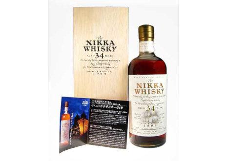 THE NIKKA(ザ・ニッカ) 34年 1999