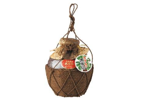 久米島の久米仙 棕櫚巻(しゅろまき)壷入り 五合瓶 900ml