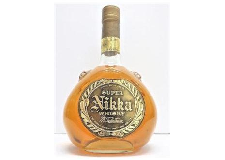 Super Nikka(スーパーニッカ) 突起ボトル 1970
