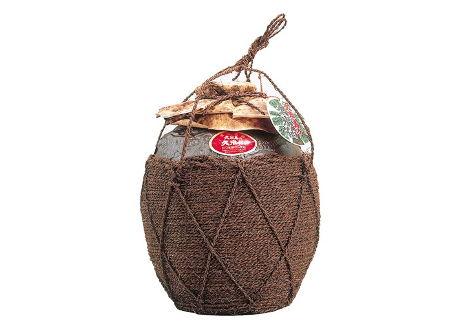 久米島の久米仙 棕櫚巻(しゅろまき)壷入り 一升瓶 1800ml