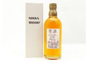 愛知県名古屋市よりニッカシングルカスク原酒20年北海道余市蒸留所限定を宅配買取いたしました。