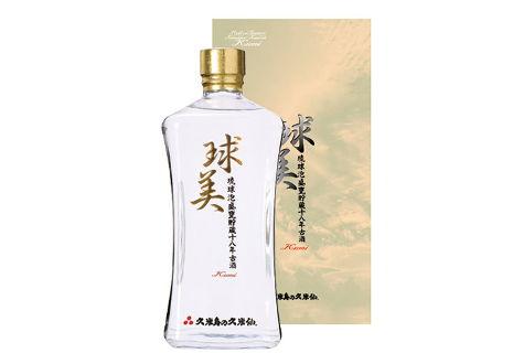 琉球泡盛 久米島の久米仙 球美 貯蔵18年 古酒
