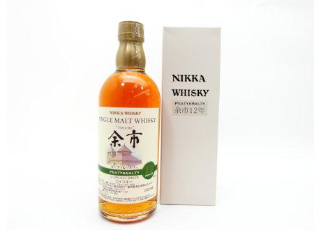 福島県本宮市のお客様からNIKKA(ニッカ) 余市 ピーティ&ソルティ 12年を宅配買取させて頂きました。