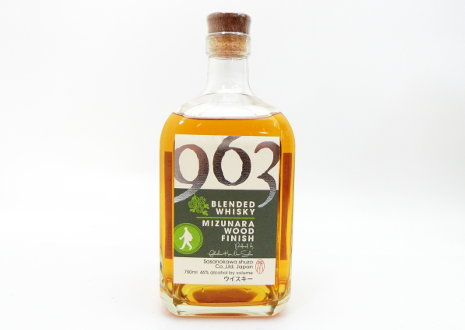 笹の川酒造 963 ミズナラウッドフィニッシュ ブレンデッドウイスキー