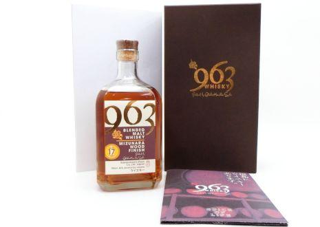 福岡県田川市より笹の川酒造963ミズナラウッドフィニッシュ17年を宅配買取いたしました。
