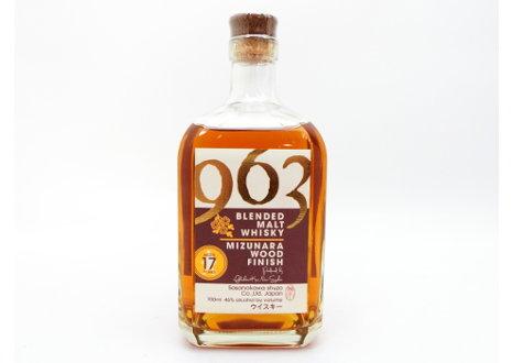 笹の川酒造 963 ミズナラウッドフィニッシュ 17年 ブレンデッドウイスキー