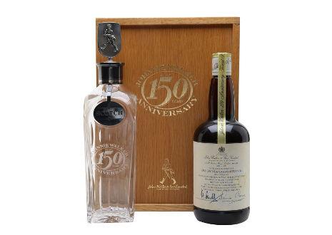 ジョニーウォーカー ブルーラベル 150周年記念 アニバーサリーボトル