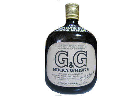 NIKKA(ニッカ) G&G 黒ビン 初期ボトル