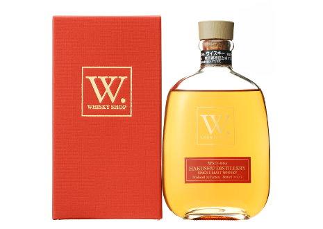 ウイスキーショップW シングルモルト 白州蒸留所 NO.3 WSO-003