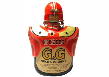 NIKKA(ニッカ) G&G アメリカンフットボール カバー付ボトル