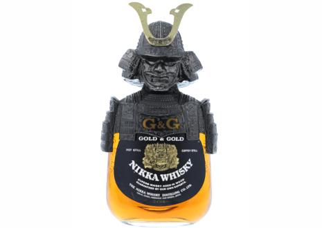NIKKA(ニッカ) G&G 白ビン 伊達政宗鎧兜付き