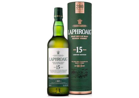 ラフロイグ 15年 200周年記念ボトル