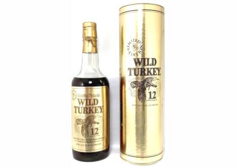 ワイルドターキー 12年 ゴールドラベル