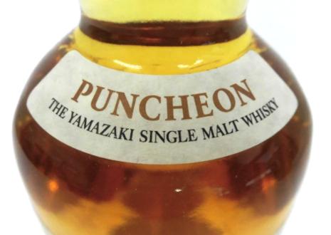 サントリーウイスキー山崎パンチョン2009を高価買取!