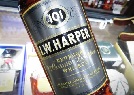 終売バーボン「I.W.ハーパー 101プルーフ」を高価買取!